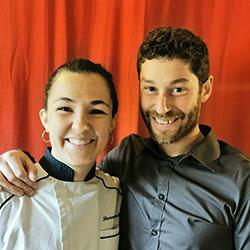 Florence Audier, maître restaurateur de l'hôtel restaurant au bien être villecroze